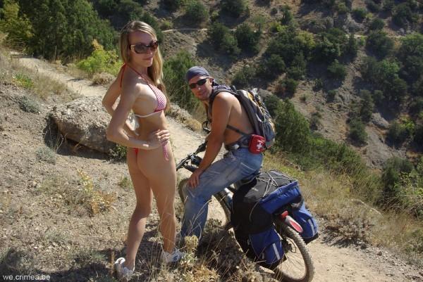 велопоход по крыму