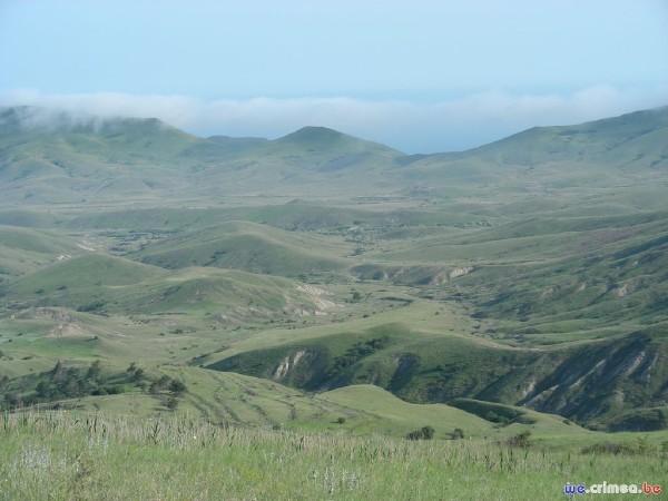 Велопоход по восточному Крыму - фотоотчет - Над орджоникидзе
