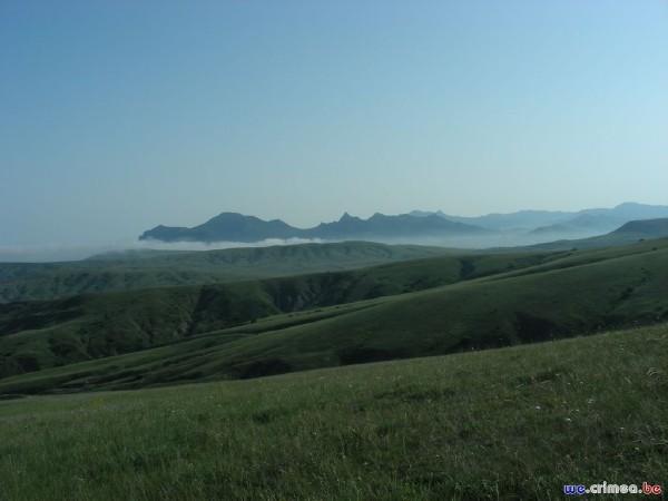Велопоход по восточному Крыму - фотоотчет - на пути в орджоникидзе