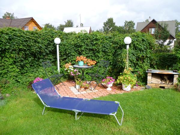 Фото зон отдыха на даче своими руками