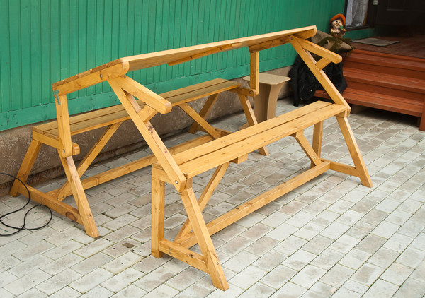 Продаю скамейки-трансформеры