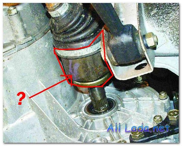 снятие и установка приводов передних колес на автомобилях ваз 2108, ваз 2109, ваз 21099. статья про снятие и...