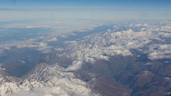 горы грузия