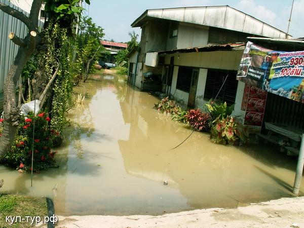 затопленные районы