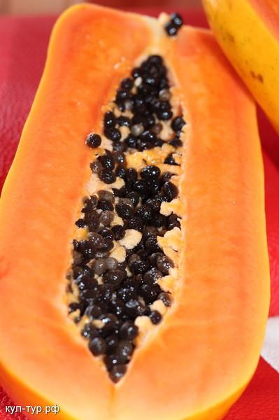 свежая папайя