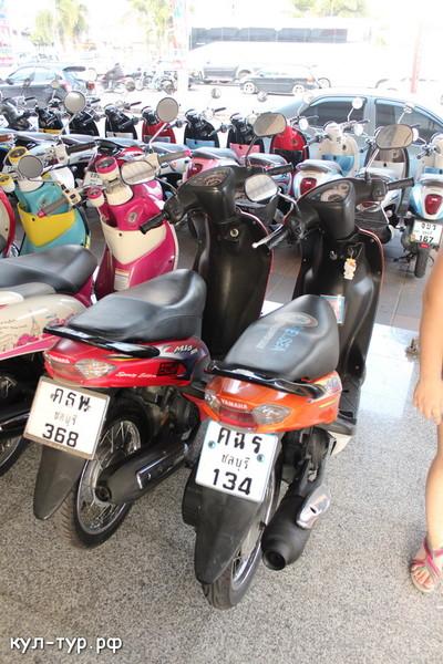 покупка мопеда в тайланде