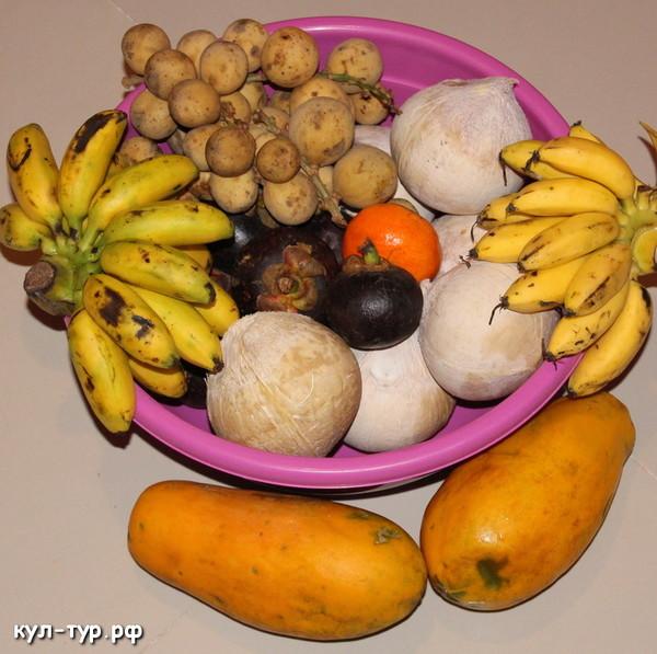 фрукты тропики