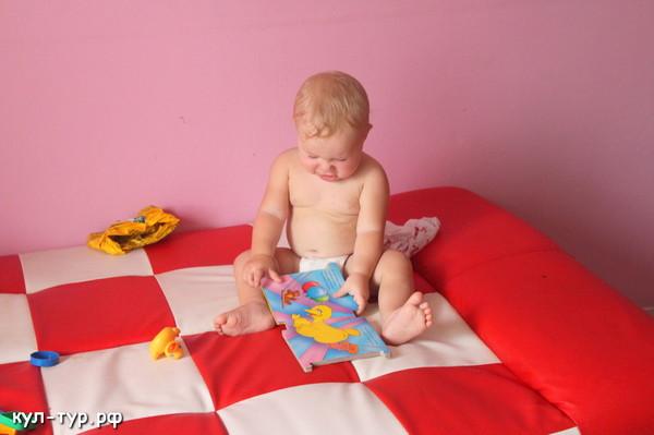 ребёнок учиться читать