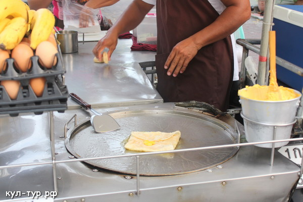 тайская еда блинчики