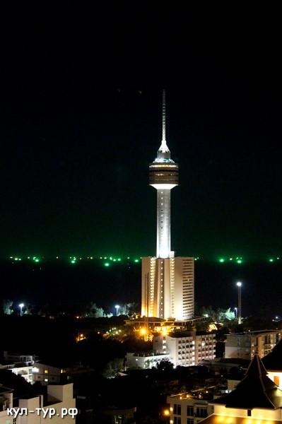 телевизионная башня паттайя
