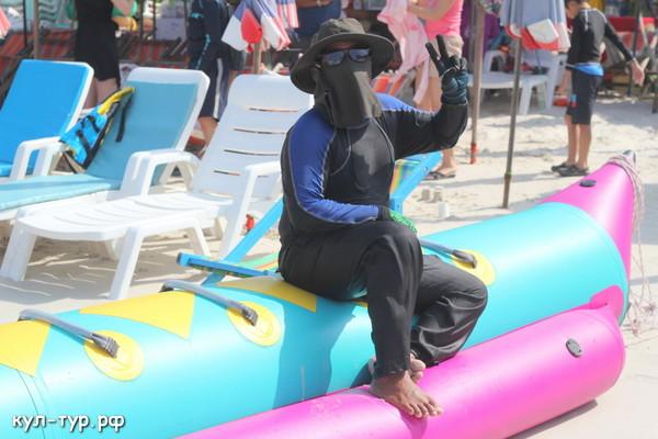 тайцы на море