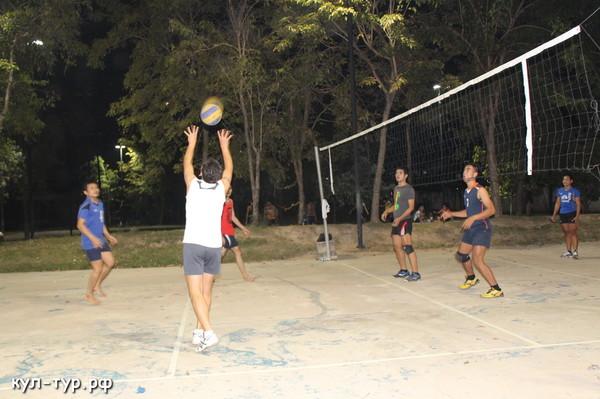 волейбол в тайланде