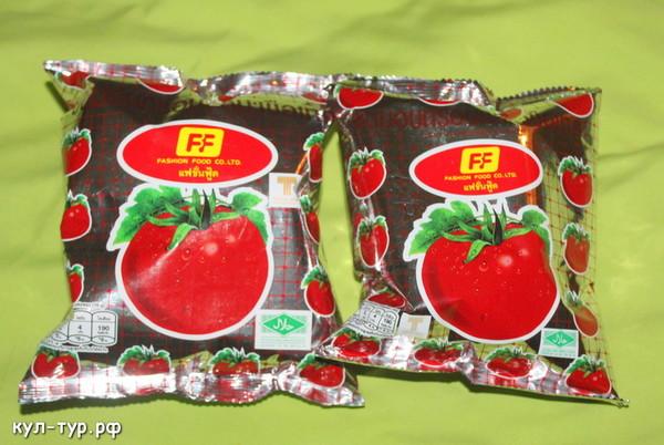 тайские чипсы томатные