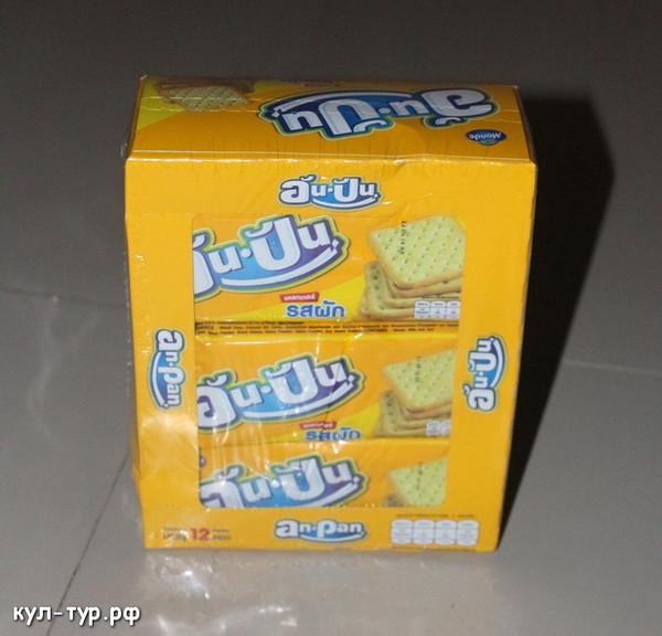 печенье в тайланде