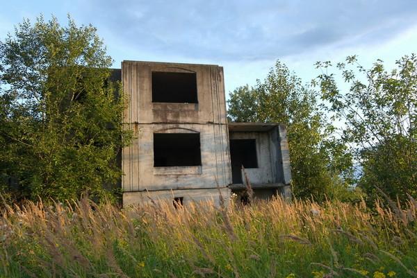 развалины недострой