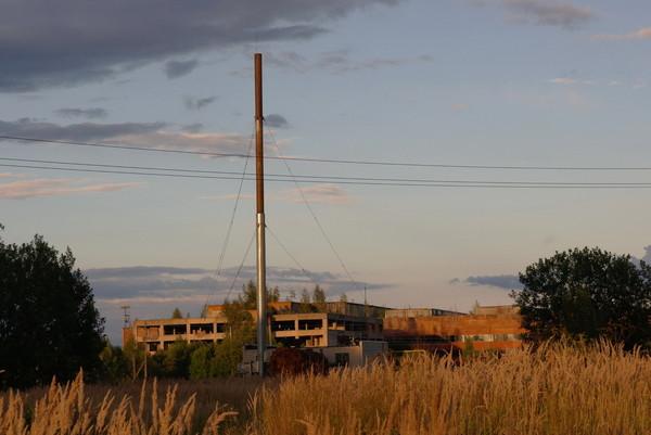пустой заброшенный завод Сухиничи заброшка