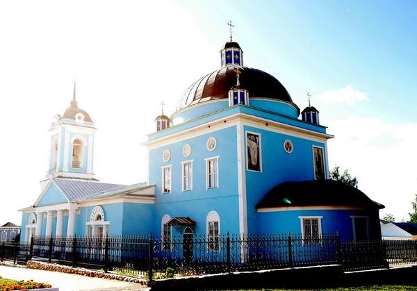 храм церковь Сухиничи