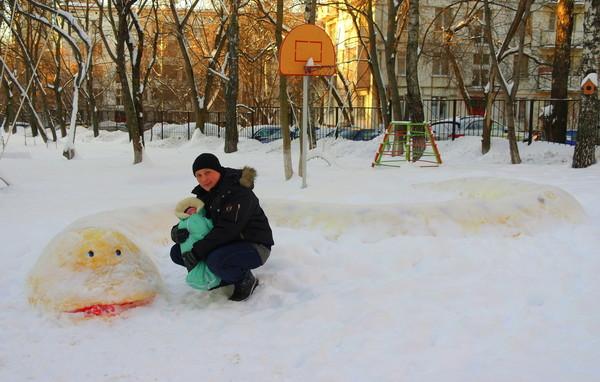 зима и Маша