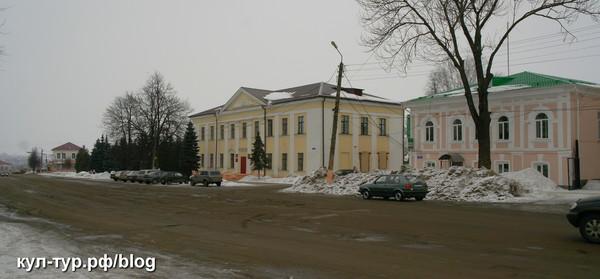 Сухиничи зимой