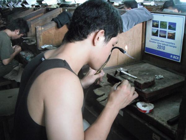 Убуд мастерская серебра