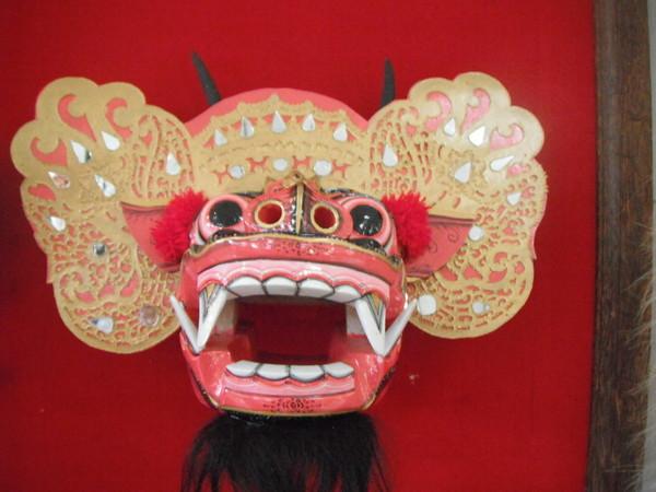 маска индонезии