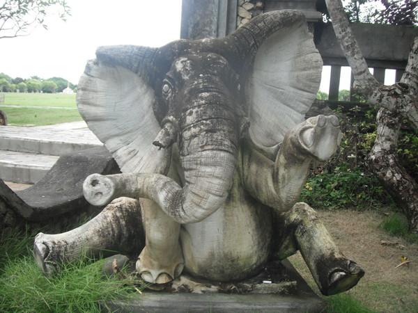 слон Парк Бали