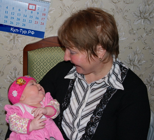 Маша и бабушка
