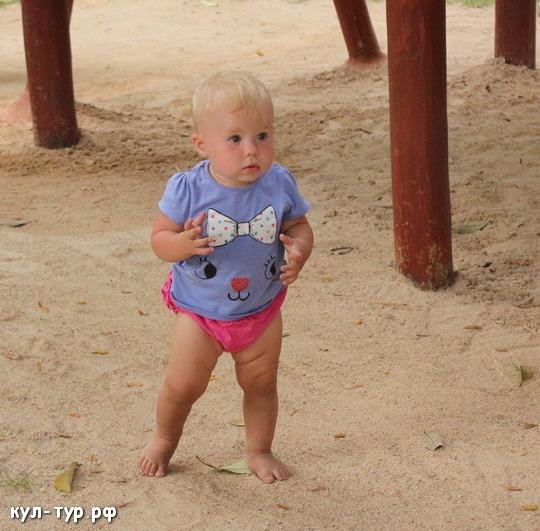 ребёнок научился ходить
