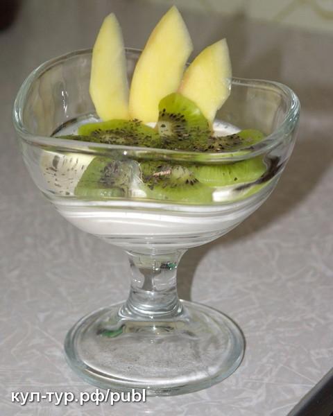 Твороженный десерт