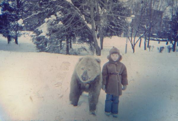 я и медведь