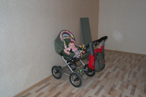 Маша в новой квартире