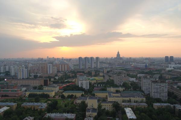 Москва сверху