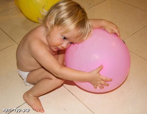 надувные шары дети