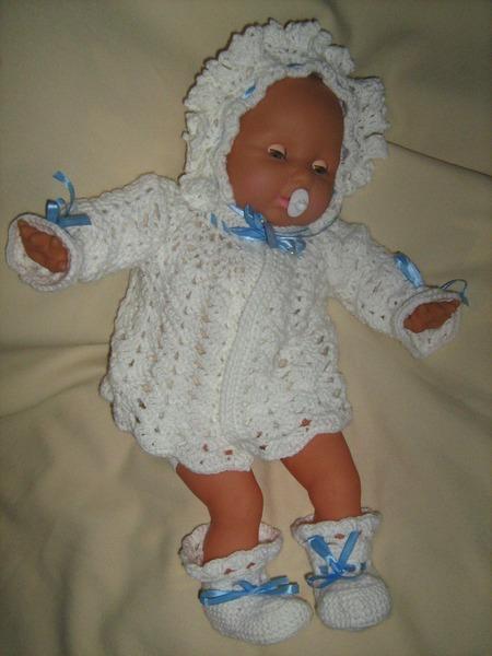Вязание для новорожденных крючком схемы.