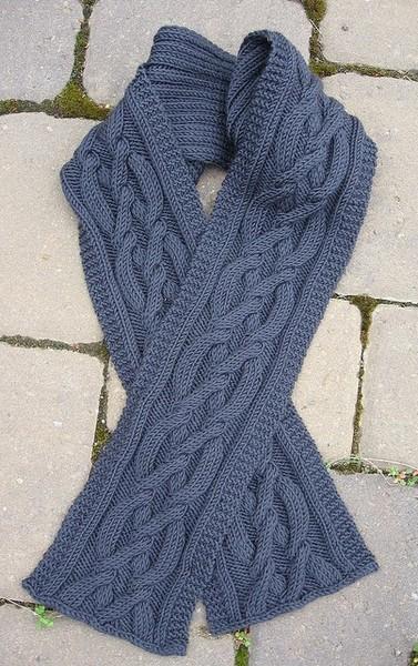 Модные мужские шарфы.