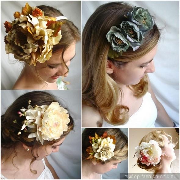 Осенние украшения для волос
