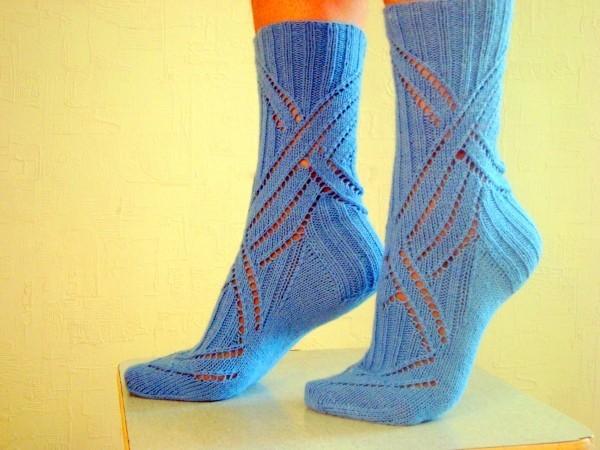Красивые носки на красивой