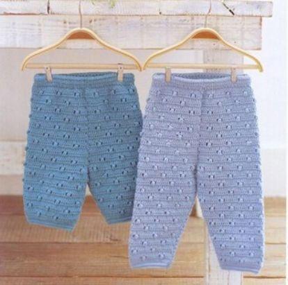 штанишки (или шортики) вязаные крючком.