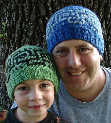 Вязаные шапки для мужчин и
