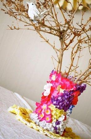 Ваза для цветов своими руками мастер класс