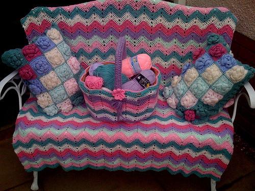 Вязание для мебели.