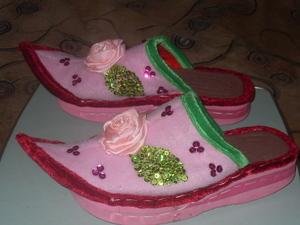 Домашняя обувь своими руками схемы 60