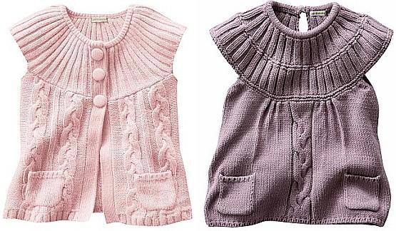 Рубрика: Детское вязание спицами, Для девочек
