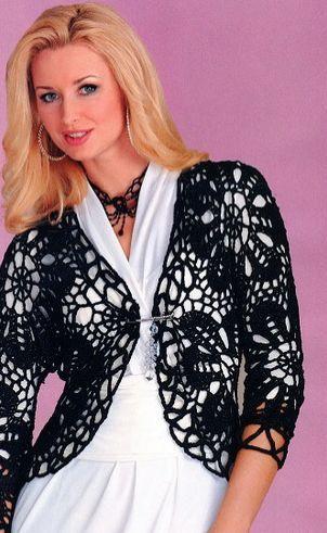 Оригинальная блузка. Схемы