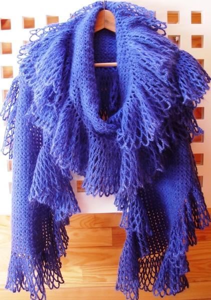 Оригинальный воздушный шарф с
