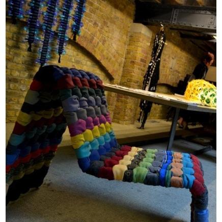 Плетение лаптя-четверика из