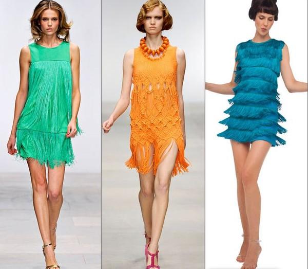 Мода 20-х годов платья
