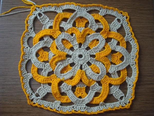 Бабушкины мотивы для вязания крючком 351