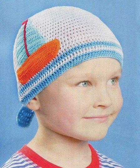 Летняя шапочка-бондана для