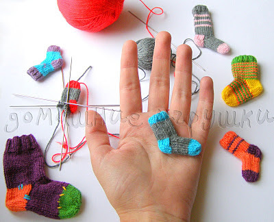 Miniature socks-1